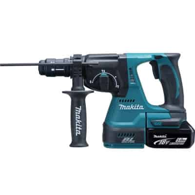 MAKITA Perfo-burineur SDS-Plus 18 V Li-ion 5 Ah - DHR243RTJ