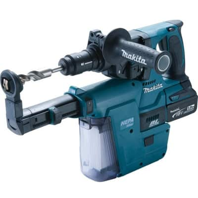 MAKITA Perfo-burineur SDS-Plus 18 V Li-ion 5 Ah - DHR243RTJV