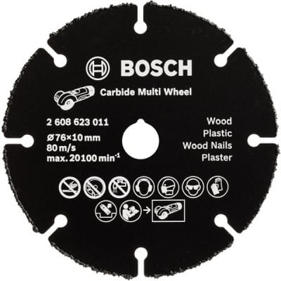 BOSCH Disque carbure Carbide Multiconstruction