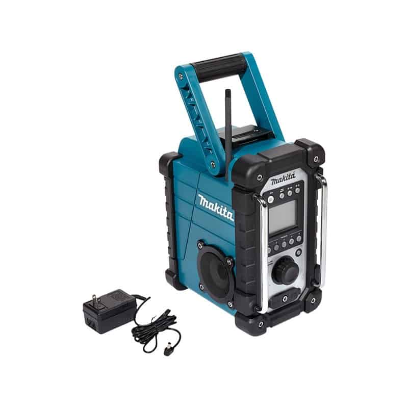 makita radio de chantier dmr107 solo radio de chantier enceinte. Black Bedroom Furniture Sets. Home Design Ideas