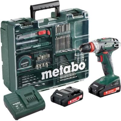 METABO Perceuse visseuse BS18 Quick 18V - coffret +74 acc - 602217880