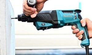 Perforateur Burineur SDS-plus : travaux de perçage et burinage