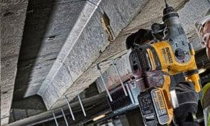 Perforateur Burineur SDS-plus sans fil : travaux de perçage dans le béton