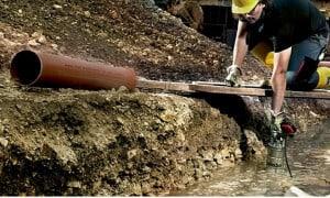 Pompe de chantier pour professionnels du bâtiment   Guedo Outillage