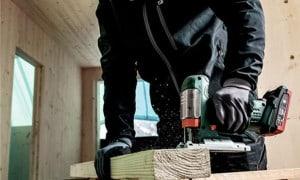 Scie sauteuse sans fil, sans fil professionnelle pour bois, métal...