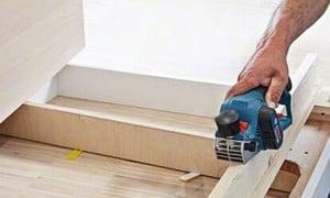 Rabot sans fil : achat rabot électrique pour le travail du bois