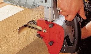 Mortaiseuse à bois, à chaîne portative, à bédane & à mèches