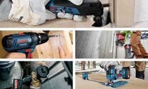 Pack 5 outils électroportatifs | Guedo Outillage