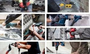 Pack 6 à 9 outils électroportatifs | Guedo Outillage