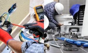 Pack d'outils pour les électriciens et plombiers | Guedo Outillage