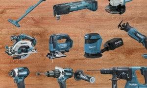 Pack 10 à 15 outils électroportatifs | Guedo Outillage