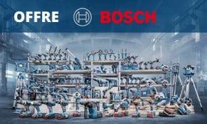 Offres de remboursement Bosch - jusqu'à 100€ remboursés
