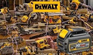 XR Flexvolt de Dewalt, la première batterie de 54V   Guedo Outillage