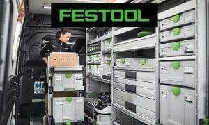 Festool   Mobilité : Solution de rangement, système Systainer et accessoires