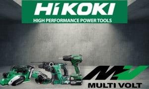 Hikoki : Gamme d'outils Multi-Volt 18V et 36V  Guedo Outillage