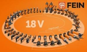 Offre Fein : Set de démarrage offert 2 batteries + 1 chargeur 18V