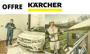 KARCHER   Promotions & Offres de remboursement : Nettoyeur haute pression
