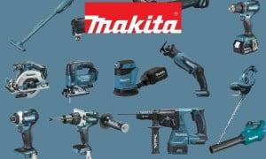 Makita   Outils électroportatifs sans-fil et accessoires 18V Li-Ion