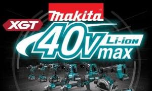 Makita   Gamme d'outils sans-fil 40V XGT   Perceuse, Scie circulaire...