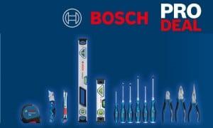 Bosch   Pro Deals   1 outil acheté 1 outil offert : offre Bosch