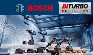 Bosch Professional   Outils sans-fil Biturbo Brushless : Meuleuses, scies...