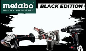Metabo Gamme Black Edition