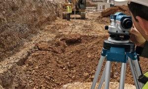 Niveau optique professionnel - Niveau de chantier automatique