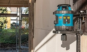 Laser rotatif de chantier extérieur - Niveau Laser