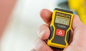 Télémètre laser professionnel pas cher : longue distance, avec niveau
